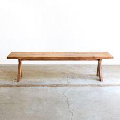 picnic modern bench ++ chad & emily robertson