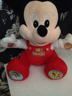 disney baby talking plush mickey mouse clubhouse