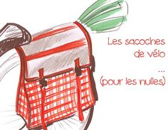 DIY bagpack for bike. In french. Diy Couture, Couture Sewing, Sewing Tutorials, Sewing Crafts, Bike Panniers, Diy Sac, Bicycle Bag, Pencil Bags, Bag Patterns To Sew