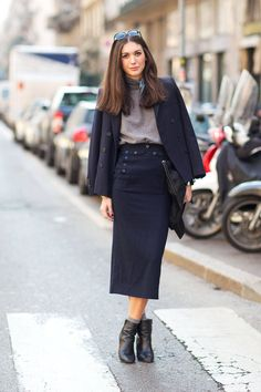 Ciao, Milano: Fall 2014 Street Style - Page 19  - HarpersBAZAAR.com