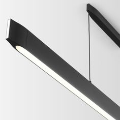 If you fancy minimalist design and still prefer to have a perfect view, the lean ELLO is just the right thing for you. The luminaire ‒ either suspended or mounted on the ceiling ‒ provides a hell of a lot of light. Linear Lighting, Lighting Design, Pendant Lighting, Id Design, Lamp Design, Conference Room Design, Wooden Lamp, Conceptual Design, Light Installation