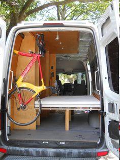 Bike mount inside the sprinter? - Page 2 - Sprinter-Forum