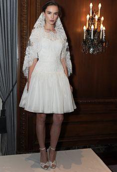 Short plus size wedding dresses on pinterest plus size for Valentino short wedding dress