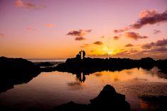 Destination Wedding Photography. Wedding photographer. Sunset bride and groom dance. Ocean reflection pic ideas. Ally Papko Photography & Design. International Wedding Photographer. Boudoir Photographer. Winnipeg www.allypapko.com