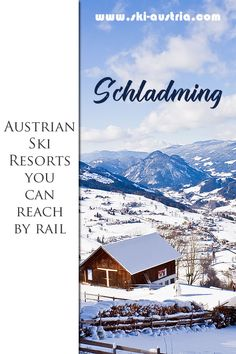 Schladming is a ski resort with a rail connection. That makes it a great destination for those skiers planning independent winter holidays in Austria. Find out which other Austrian ski resorts can be accessed by train. Colorado Winter, Skiing Colorado, Austrian Ski Resorts, Ski Austria, Snow Lake, Winter Holidays, Winter Snow, Travel Humor, Cross Country Skiing
