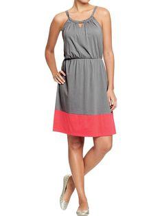 Old Navy | Women's Sleeveless Color-Blocked Dresses
