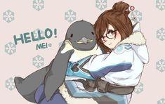 Mei Ling Zhou, Overwatch Mei, Video Game, Bae, Anime, Random, Cartoon Movies, Anime Music, Animation