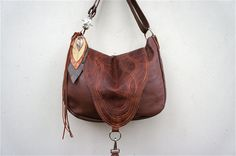 LAVINIA////in Rosewood and Brown PullUp Leathers by arebycdesign