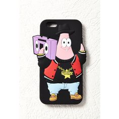 Forever 21 SpongeBob x Mina Kwon Patrick Star Case for iPhone 6 (365 PHP) ❤ liked on Polyvore featuring accessories, tech accessories, phone case and forever 21