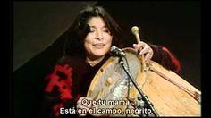 MERCEDES SOSA duerme negritos - YouTube