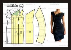 Como hacer vestidos cortos con patrones04