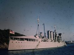 HMAS Australia, Atholl Bight, G Packer picture early Royal Australian Navy, Wwii, Paris Skyline, Travel, Viajes, World War Ii, Destinations, Traveling, Trips