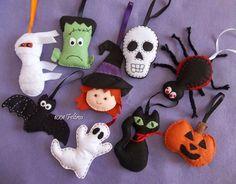 1001 Feltros: Decoração Halloween - Parte 2
