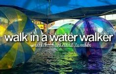 Walk in a Water Walker