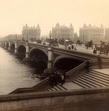 Westminster Bridge - London - c 1887