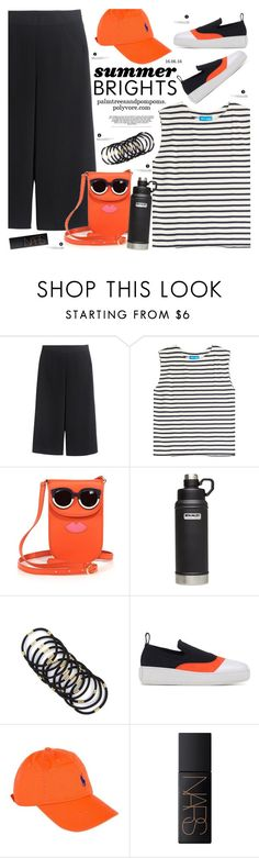"""Summer Brights"" by palmtreesandpompoms ❤ liked on Polyvore featuring M.i.h Jeans, Tory Burch, Stanley Furniture, McQ by Alexander McQueen, NARS Cosmetics and summebrights"