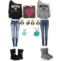 Best friends outfit @Lauren Davison Davison Davison Davison Grady were going shopping!!
