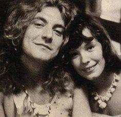 Robert Plant of Led Zeppelin and Pamela Des Barres Robert Plant, Pamela Des Barres, Led Zeppelin, John Paul Jones, John Bonham, Jimmy Page, Audrey Hamilton, Rock N Roll, Famous Groupies
