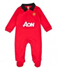 NEW IN - Manchester United Baby Core Kit Sleepsuit. £11.99