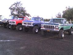 Old Ford Trucks <3