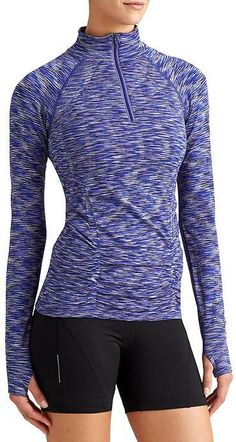 30a807fe7bc Fastest Track Half Zip Space Dye Athleisure Fashion