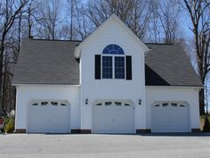 1000 images about detached garage on pinterest detached for 4 car garage with apartment above