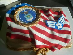 Air Force Cake by keki-girl on DeviantArt Army Cake, Military Cake, Fancy Cakes, Cute Cakes, Retirement Cakes, Retirement Ideas, Air Force Love, Airforce Wife, Military Retirement