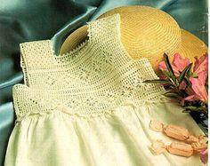 crochet yoke sundress - Google Search