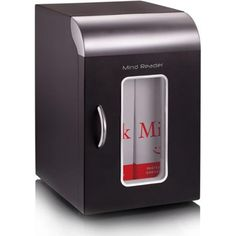 Ems Mind Reader Llc Cube Mini Coffee Station Refrigerator - This little refrigerator is the perfect size for small containers of milk or other. Small Fridges, Small Appliances, Kitchen Appliances, Tiny Fridge, Bathtub Accessories, Compact Refrigerator, Chrome Handles, Specialty Appliances, Modern Kitchen Design