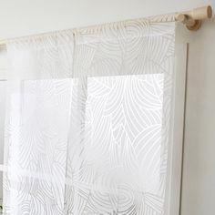 Panneau japonais, Feuillage blanc, H.250 x l.50 cm Curtains, Home Decor, Leroy Merlin, Nature, Products, Interiors, Stylish Bedroom, Minimalist Bedroom, Blinds