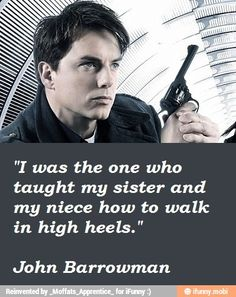 LOL of course John Barrowman level sexiness is way beyond most people
