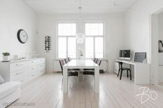 148,5m² Puolalanpuisto 2B, 20100 Turku Puutalo-osake 5h myynnissä | Oikotie 9292197 Decor, Furniture, Room, House, Dining, Dining Bench, White Dining Room, Home Decor, Home And Living