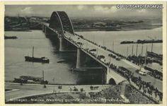 1936 Nijmegen - Nieuwe Waalbrug grootste boogspanning van Europa