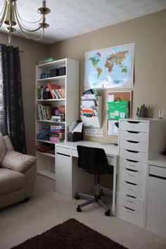 it's just Laine: Brandon and Rebecca's Home School Room Tour