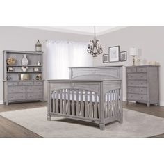 Shop for Evolur Santa Fe Grey Finish Wood Five-in-one Convertible Crib. Get free delivery at Overstock.com - Your Online Furniture Outlet Store! Get 5% in rewards with Club O!