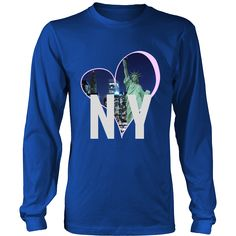 Love New York City Unisex District Long Sleeve T-Shirt (8 colors)