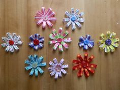 easy peasey ribbon hair clips!    for my pretty daughter & nieces!