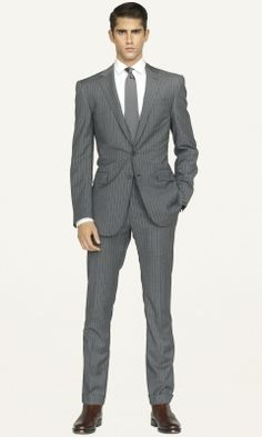 Ralph Lauren Fitted Suit: