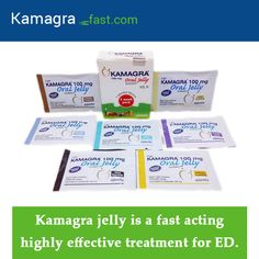 Kamagra jelly is a fast acting highly effective treatment for ED.