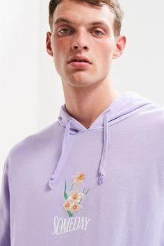 Shop Someday Embroidered Hoodie Sweatshirt at Urban Outfitters today. We carry all the latest styles, colors and brands for you to choose from right here.