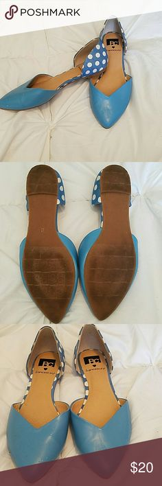 BC D'Orsay Flats Small scratches on right toe (thanks cat) otherwise in great condition BC Footwear Shoes Flats & Loafers