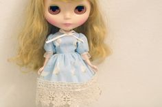New!Baby blue dress for Blythe dolloutfit di Mirumaru su Etsy
