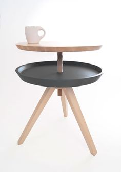"""Giros"" auxiliary table design by Cristian Reyes: Winner Reddot design 2013"