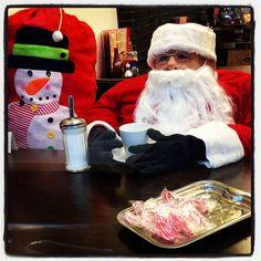 This is not the real #Santa in fact it's not a real person! It's a #KookyLondon https://itunes.apple.com/gb/app/kooky-london/id625209296?mt=8 #ig_London #igLondon #London_only #London_gram #UK #England #GreatBritain #British #iPhonesia #iPhone5S #App #KentishTown #kooky #quirky #photofthday #photography #picoftheday #igerslondon #igerslondon #londonpop #lovelondon #timeoutlondon #londonlife #instalondon #londonstreet #click_london #Padgram