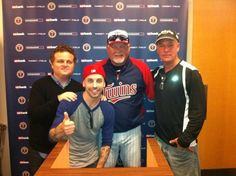 "Squints And Ham From ""The Sandlot"" Reunited At A Twins Game"