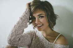 Very Charming and Alluring Pixie Reduce with Great Wavy Strands of Hair
