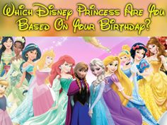 If you starred in one of the iconic Disney movies, which princess would you be? Your date of birth will magically help you to find out!