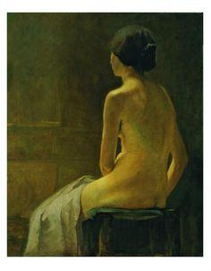 "Die Menschenmaler: Emil Nolde: ""Pariser Modell"" - Bild 3 - [ART]"