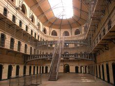 Prison in Ireland Dublin, Lock Up, Nature Photos, Prison, Ireland, Louvre, Building, Travel, Goal