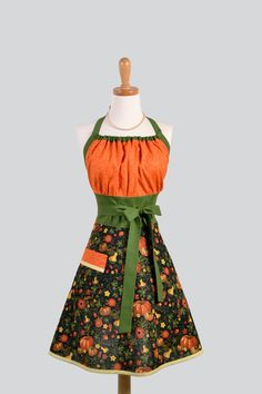 Fall Apron super cute for baking